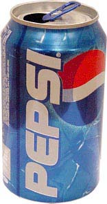 Ingredient security: Pepsi can