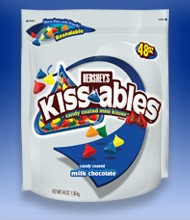 Rollout: Hershey's Kissables candy