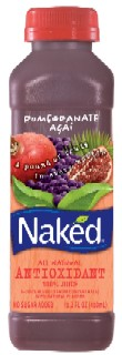 Rising Stars: Naked Juice's Pomegranate Acai juice