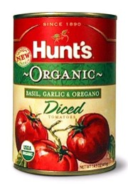 Product Spotlight: Hunt's Organic canned tomatoes