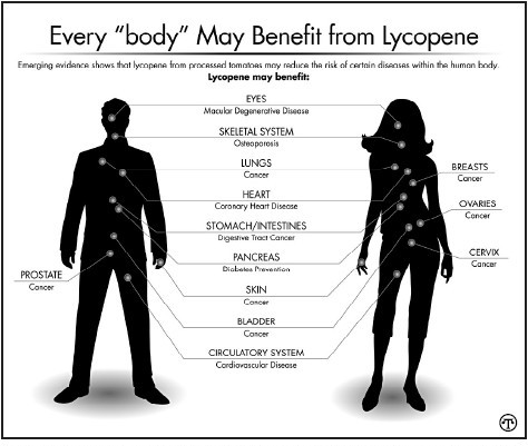 Vegetables feature: Heinz graphic on lycopene's health benefits