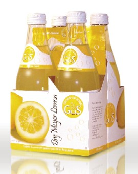 Utmost Brands' GuS meyer lemon soda