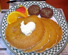 Whole Grains in Foodservice article: Joey's Pancake House pancakes