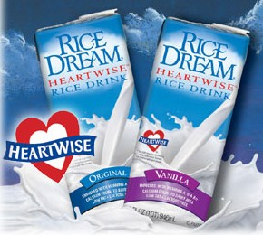 Rice Dream Heartwise vitamin- and calcium-fortified non-dairy beverage