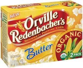 Category report: popcorn (Orville Redenbacher organic)