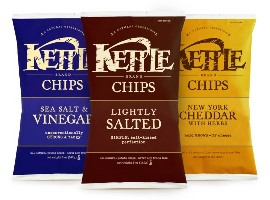 Packaging naturally - Kettle Chips