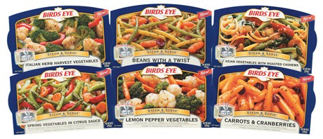Product Spotlight: Birds Eye Steam & Serve Vegetables
