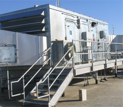 Controlling Moisture in the Plant: Rooftop dehumidification unit