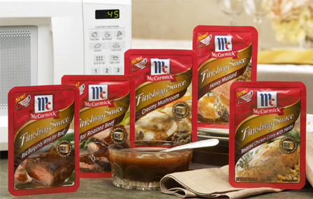Rollout: McCormick Finishing Sauces