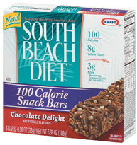 product from Kraft's South Beach Diet line