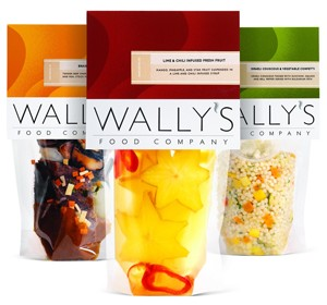 Gourmet foods packaging: Wally's