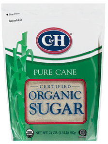 Sugars article: C&H Organic sugar