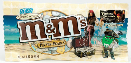 M&M's Pirate Pearls