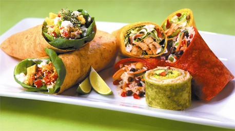 Foodservice for kids: Wrap sandwiches