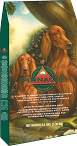 Breeder's Choice's Pinnacle-brand dog food