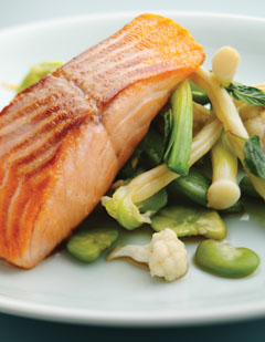 Diet & Cancer: Salmon photo