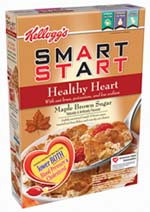 Kellogg hit a home run with Smart Start cereals, which hlep improve both cholesterol and blood pressure.