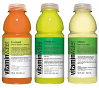 Glaceau uses crystalline fructose to sweeten its Vitaminwater and Fruitwater lines, and no one complains about the fructose in them.