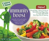 Green Giant is taking smart advantage of the natural immunity boosters in fruits and vegetables.