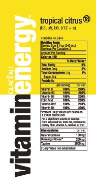 What Is Natural Caffeine In Vitamin Water