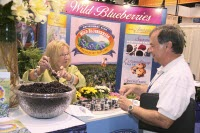 Blueberries at IFT