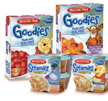 New Food Products Beech Nut Teams With Disney For New