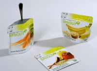 Sprout Baby Food Packaging