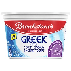 breakstone greek sour cream