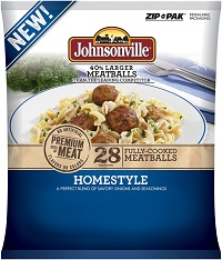 Johnsonville sausage meatballs