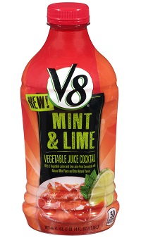 V8 Mint Lime Vegetable Juice