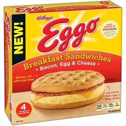 Eggo Breakfast Sandwich