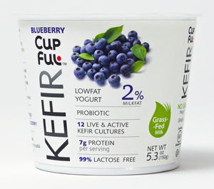 Cupful Kefir Blueberry
