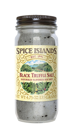 SpiceIslands BlackTruffle Salt