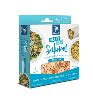 Fishpeople Salmon Snack box